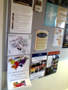 Photo of Disability Rights Campaign poster displayed at Bucknell University in Lewisburg, Pennsylvania