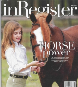 Cover of the May 2013 issue of inRegister magazine