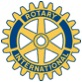 Blue and Gold Rotary Wheel Logo of Rotary International