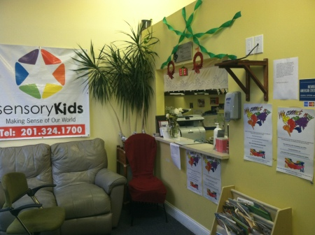 Photo of Sensory Kids with WCN Posters