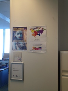 Disability Rights Campaign Poster displayed at UMass Boston