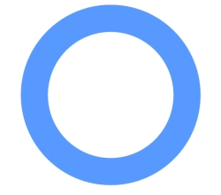 Blue Circle Diabetes Image